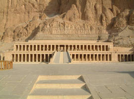 Hapshepsut's Temple, Egypt by Aimee25