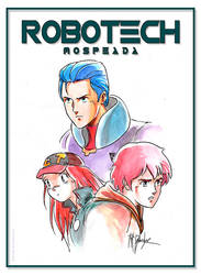 ROBOTECH: Mospeada by DRAWBAK