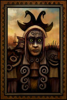 Mallard Stare by DaveWhitlam