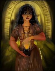 Trick of Light (Creepypasta OC: Esperanza) by mango-hana