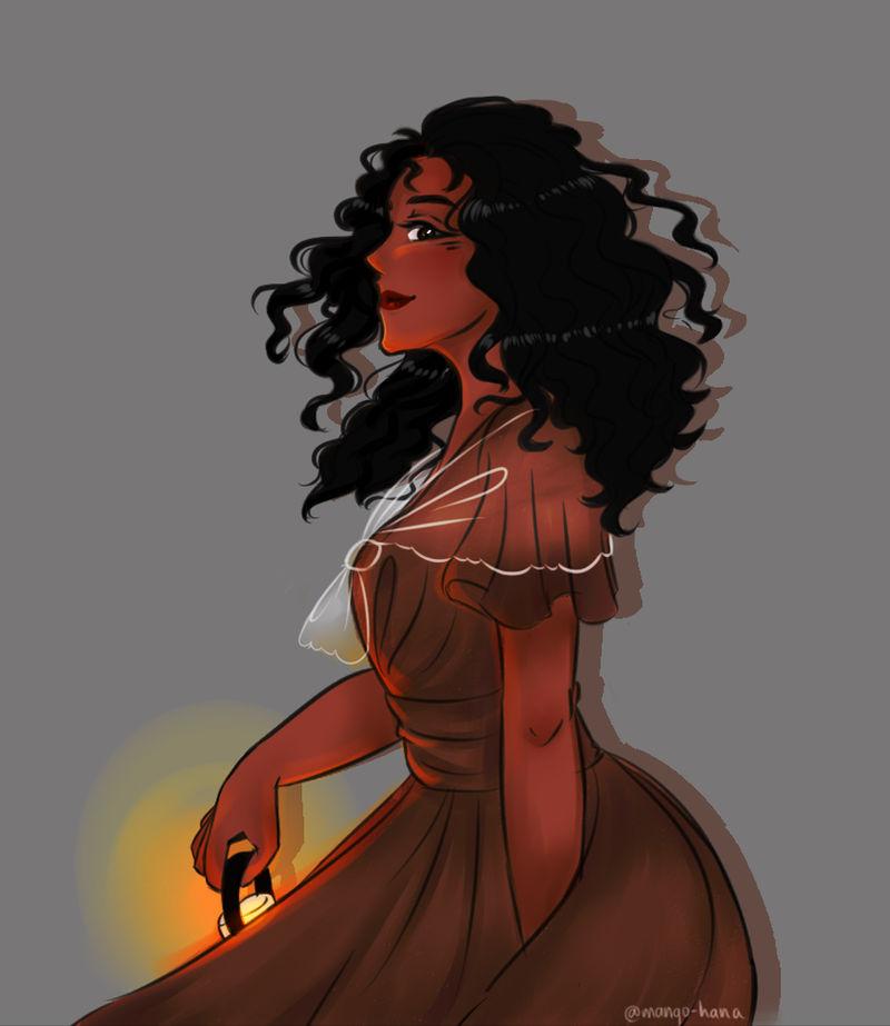 Tragic Beauty Queen (Creepypasta OC: Esperanza) by mango-hana