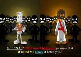 john15:18 by alexpixels
