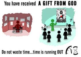 a wonderful gift by alexpixels