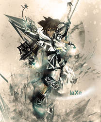 Kingdom Hearts by JustLaxin