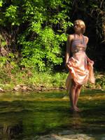 Spring Dress 7 by Neriah-stock