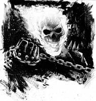 Ghost Rider sketch by ArminOzdic