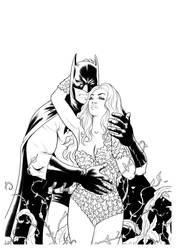 Bats and Ivy B/W by ArminOzdic