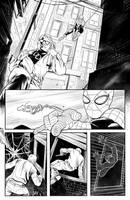 Daredevil/Spiderman Page 1 by ArminOzdic