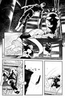 Daredevil/Spiderman Page 2 by ArminOzdic