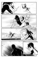 Daredavil/Spiderman Page 3 by ArminOzdic