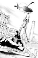 Daredavil/Spiderman Page 4 by ArminOzdic