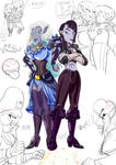 Cael and Nayare by gizmo01