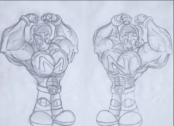 Muscle power up by gizmo01