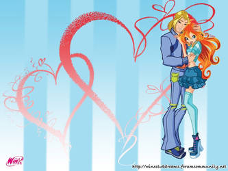 Winx Club Bloom and Sky Background 01 by Lady-Angelia-13