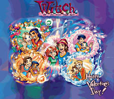 W.i.t.c.h. in Love by Lady-Angelia-13