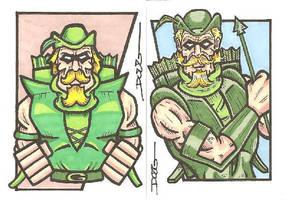 SC - Green Arrow by DougDraw