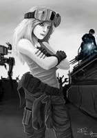 Battletech Mechanic by ZeroPointTwo
