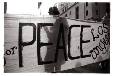 peace banner by londn