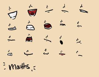 Mouth Referances by mitachondria