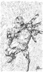Iron Man by pa5cal
