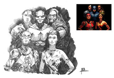 DC Justice League by pa5cal