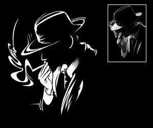 Film Noir - smoke by pa5cal