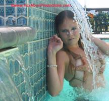 Mermaid Waters Flow by FoxmoonMerfolk