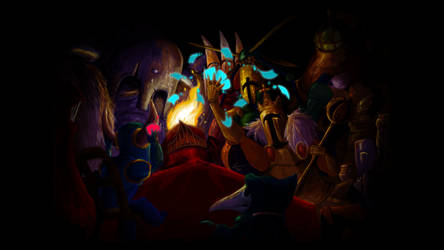 Shovel Knight: The King of Cards by LAN-V