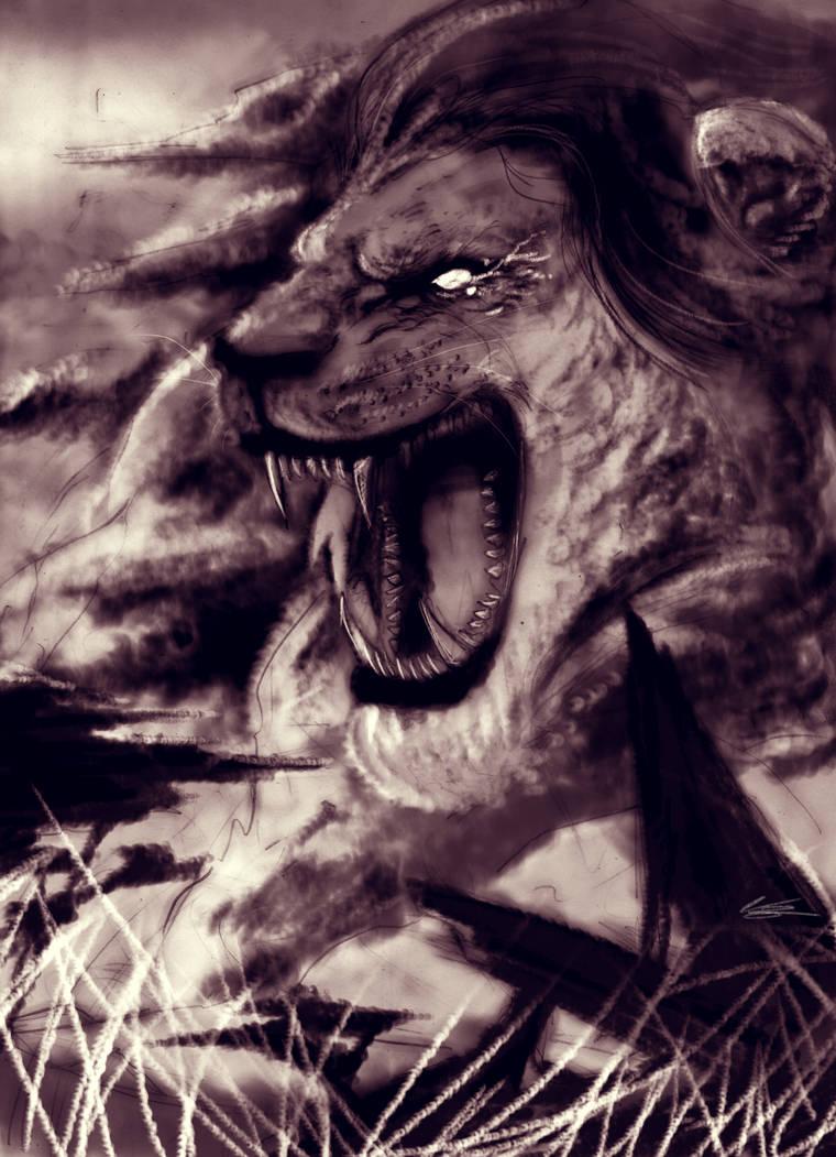 The King's Roar by LAN-V
