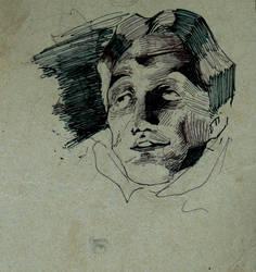 [Practice] Inked Face by LAN-V