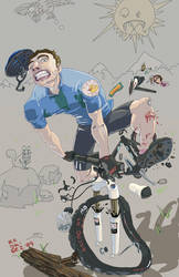 Mountain bike by menoknife