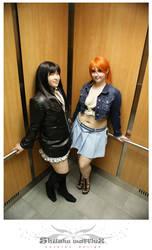 Nami and Nico Robin 2 by shushuwafflez