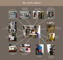 My Work Space 2012 by shushuwafflez