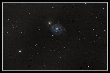 The Whirlpool Galaxy by digiurgic
