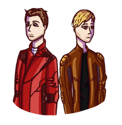 Starlord(s) by KaninNeko