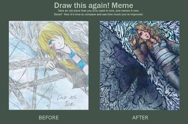 Draw this again! Meme by iPancakes
