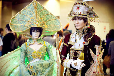 Trinity Blood - Seth Nightroad and Suleyman by OkariDane