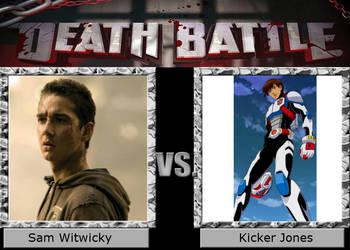 Sam VS. Kicker by ThomasandMLPPerson