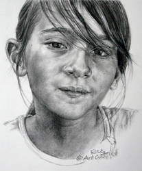 Little sweet girl by ArtCindyMF