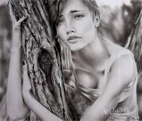 April Johnson by ArtCindyMF
