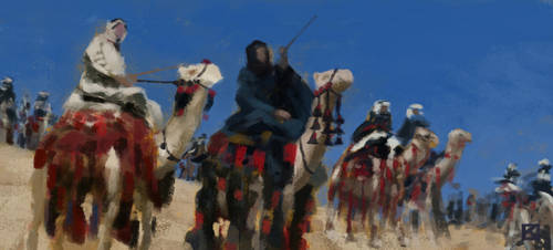 Lawrence Of Arabia Study 1 by Apollyon888