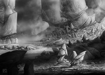 Craggy Wastes by Apollyon888