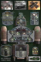 Gunboat Deckplans (Poster) by 0-hr