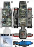 Remora Deckplans by 0-hr