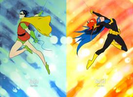 Robin/BatGirl - Year One by xxxviciousxxx