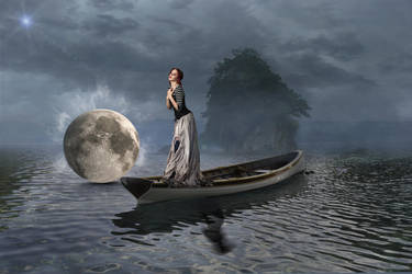 Magic Moon by Rafaraon