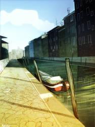 Venice - cartoon by MirkAnd89