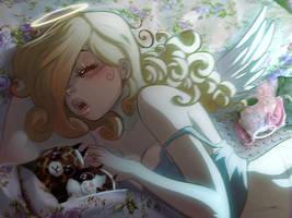 Angelina sleep by MirkAnd89