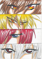 Eyes - The Four Horsemen by KurosakiYuzu-11