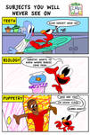 Subjects You Will Never See on Elmo's World by JoeyWaggoner